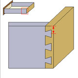 Cabinet Vision Dovetails